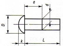 Заклепки с полукруглой головкой ГОСТ 10299-80